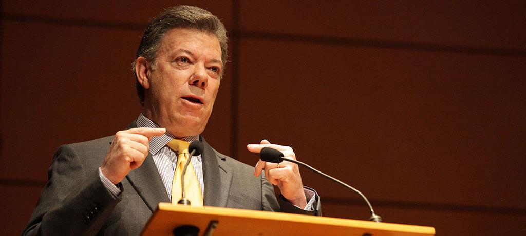 Uniandes congratulates President Santos for his Nobel Peace Prize