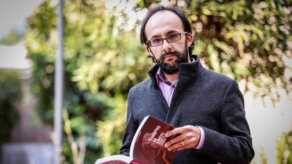 Profesor Juan Pablo Aranguren del departamento de Psicología