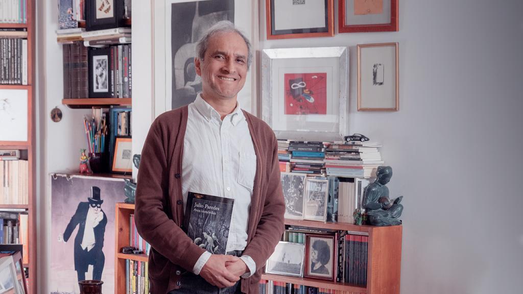 Julio Paredes, editor general de Ediciones Uniandes