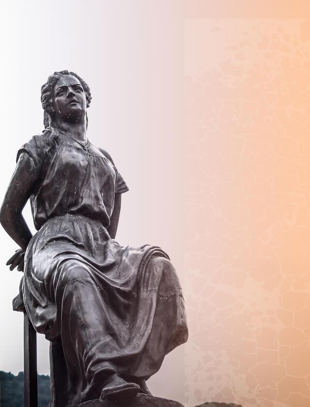 Monumento a Policarpa Salavarrieta, adoptado por la Universidad de los Andes