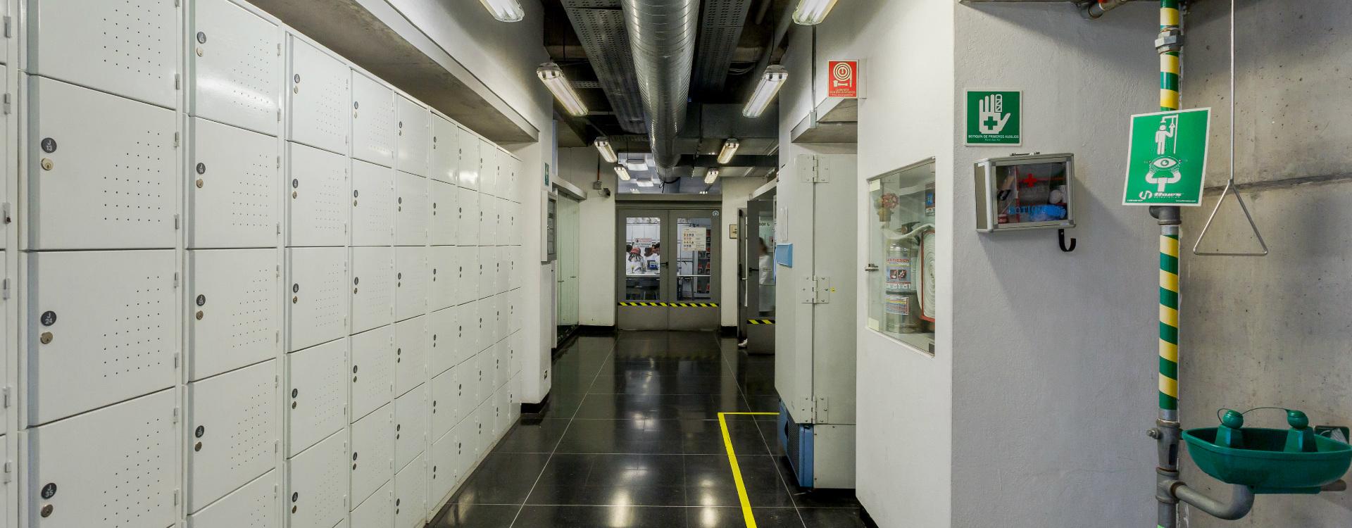 Imagen de uno de los laboratorios de la Universidad de los Andes.