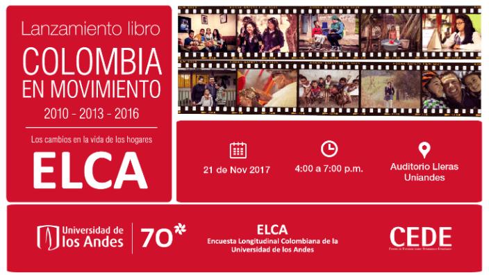 Lanzamiento libro ELCA | Colombia en Movimiento 2010-2013-2016