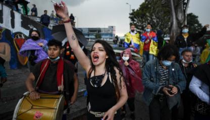 Marchantes en Colombia