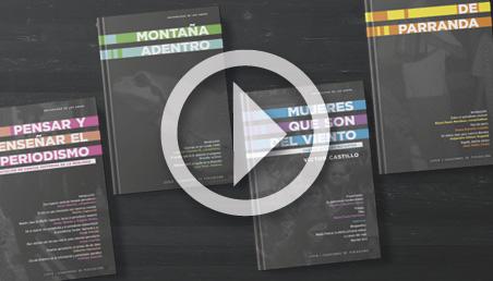 Cuadernos de Periodismo, nueva colección del Centro de Estudios en Periodismo (Ceper), de la Universidad de los Andes.
