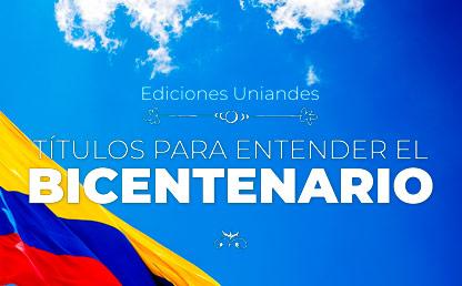 Imagen de la bandera de Colombia y el cielo en el fondo
