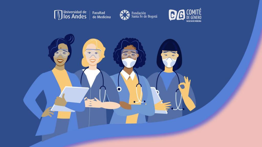 Ilustración mujeres científicas