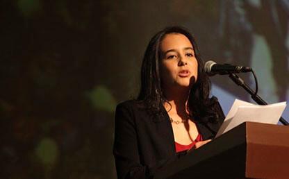 Lina Maria Mancipe graduanda ingenieria biomedica
