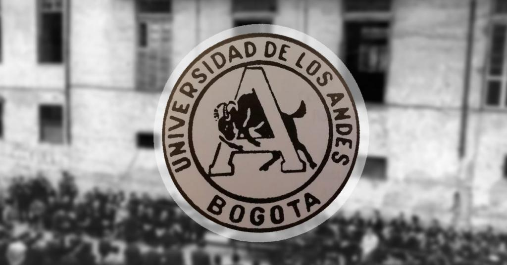 Logo antiguo de la Universidad de los Andes, Colombia