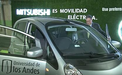 Uniandes y Mitsubishi crean una alianza verde por la movilidad sostenible