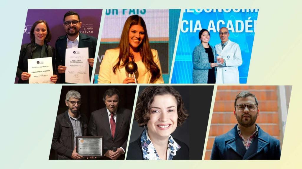 Varios profesores, estudiantes y egresados de Los Andes tuvieron presencia en premios y reconocimientos en el 2017.