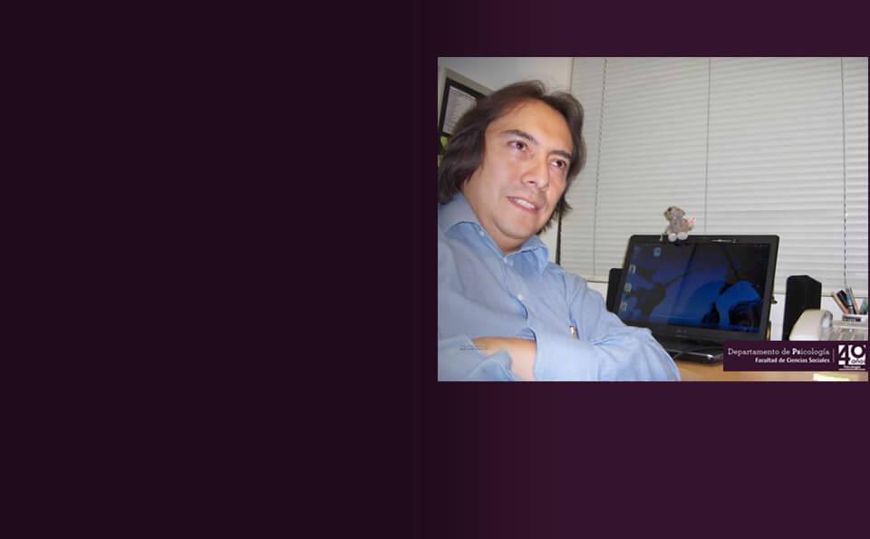 Luis Fernando Cardenas, psicologo profesor asociado de Los Andes