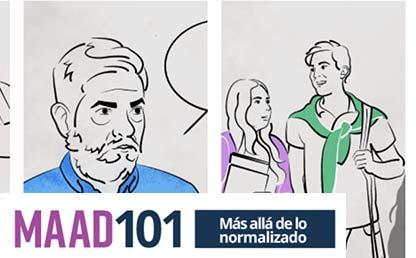 Imagen del curso MAAD 101: más allá de lo normalizado