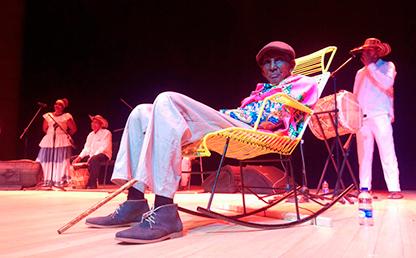 Magín Díaz, en concierto a los 94 años