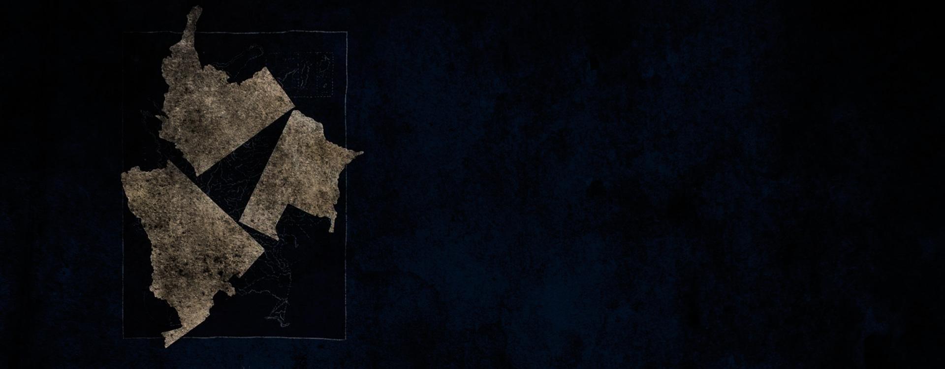 Obra de la serie Trópicos número 1.