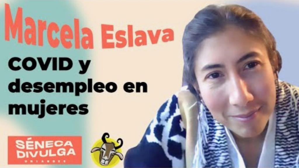 Marcela Eslava en Séneca Divulga