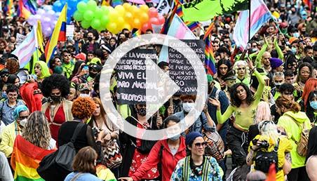 Marcha de la comunidad LGBT.
