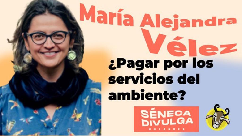 María Alejandra Vélez en Séneca Divulga