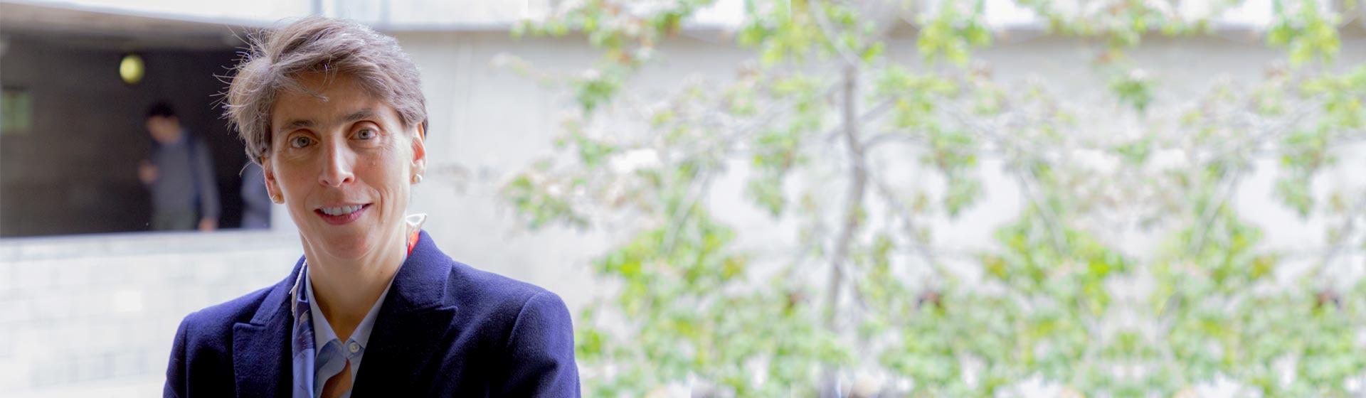 María Margarita Zuleta, nueva directora de la Escuela de Gobierno.