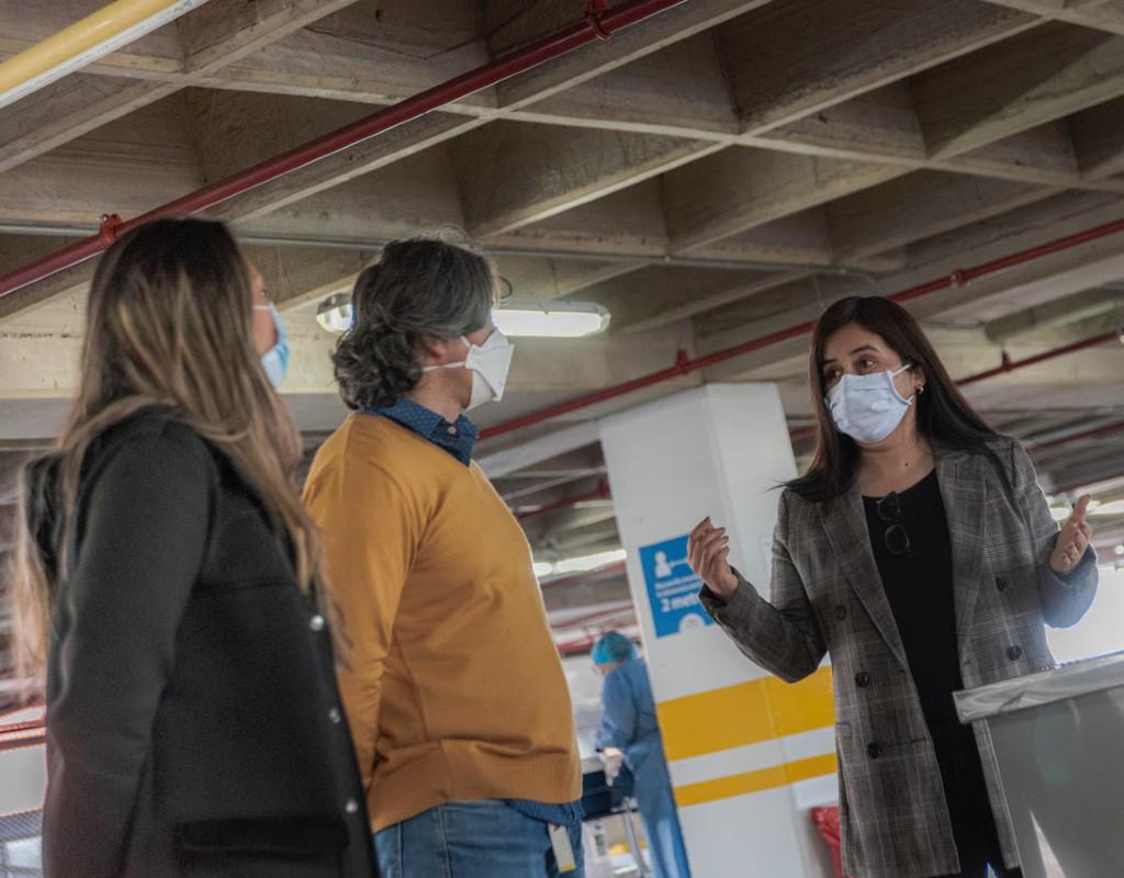 Maribel Rincón, coordinadora logística del proyecto Covida.