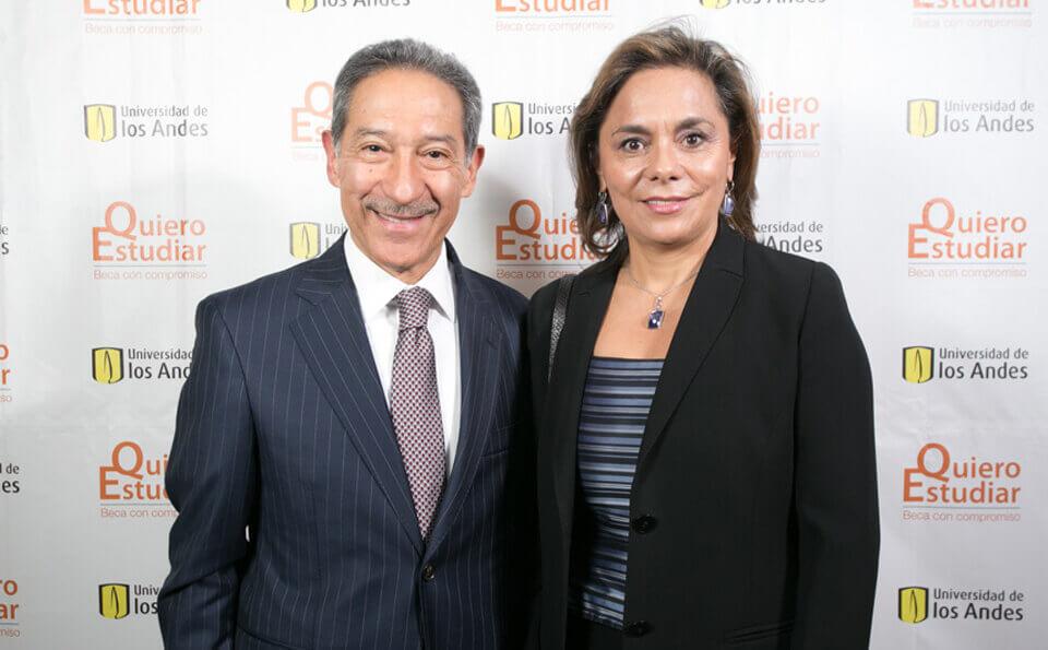 Mario Castillo y Luz Ángela Lee