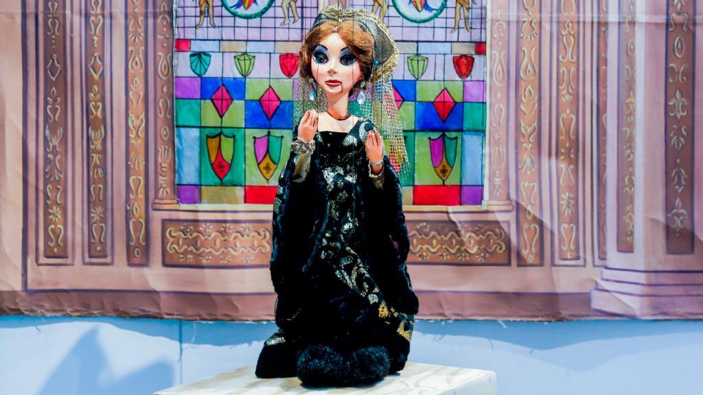 Foto de las marioneta de Jaime Manzur