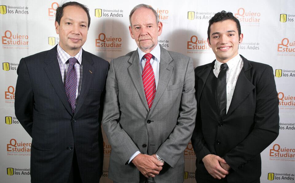 Mauricio Lloreda, Jorge Ospina y Andrés Joya