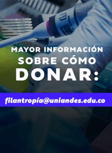 Mayor información para donaciones