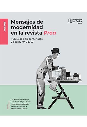 Cubierta del libro Mensajes de modernidad en la revista Proa