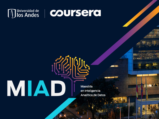 MADI logo with techno brain shape and photo of Unhands ML building
