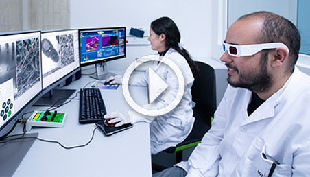 """Microscopio de barrido de electrones de alta resolución primer equipo """"Dual Beam SEM-FIB"""" en Colombia"""