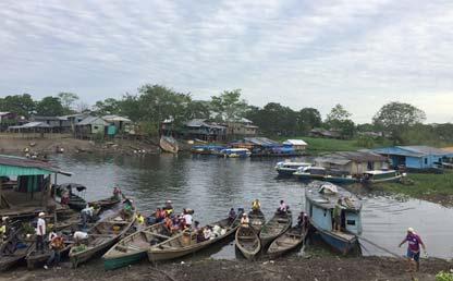 Foto de una zona pesquera en Colombia