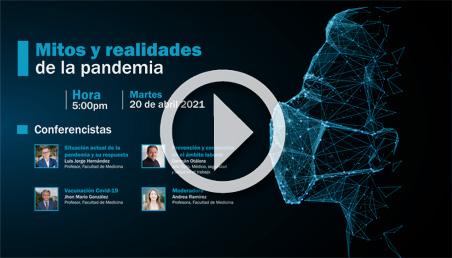 Transmisión: Mitos y realidades de la Pandemia
