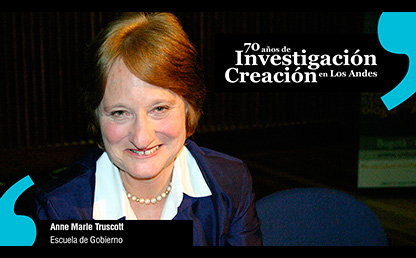 Anne Marie Truscott, profesora titular Facultad de Educación