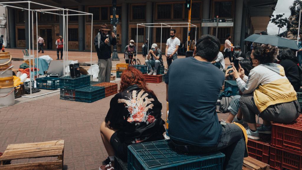 Foto de un encuentro impulsado por Modulando Colectivo