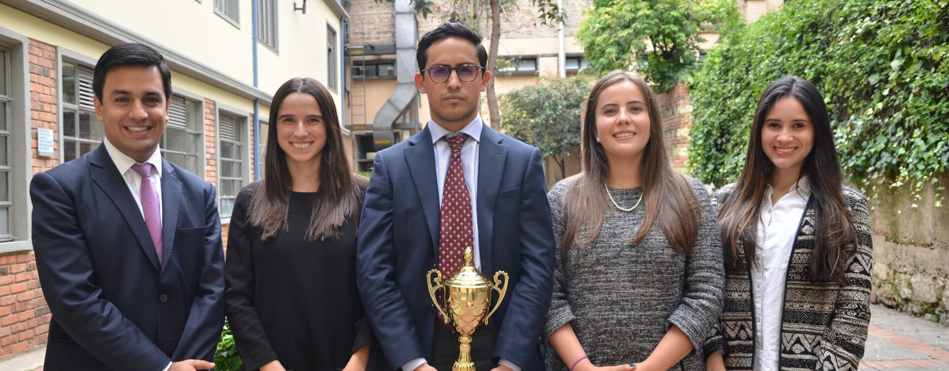 Equipo uniandino, ganador de competencia regional Elsa Moot Court Competition on WTO Law 2017