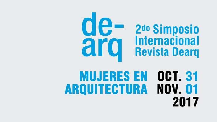 Simposio Internacional de la Revista Dearq