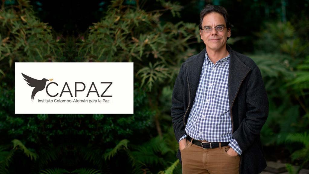 Foto de Alexander Herrera profesor de Historia del Arte de Los Andes