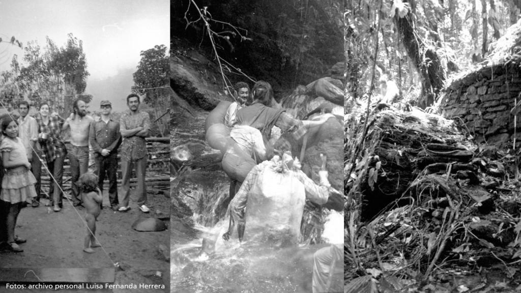 Imágenes del camino a Ciudad perdida en 1976