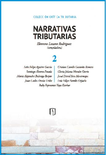 Cubierta del libro Narrativas tributarias 2