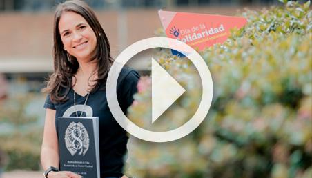 Nathalie Jacob reconstruyó su vida luego de ser operada de un tumor cerebral.