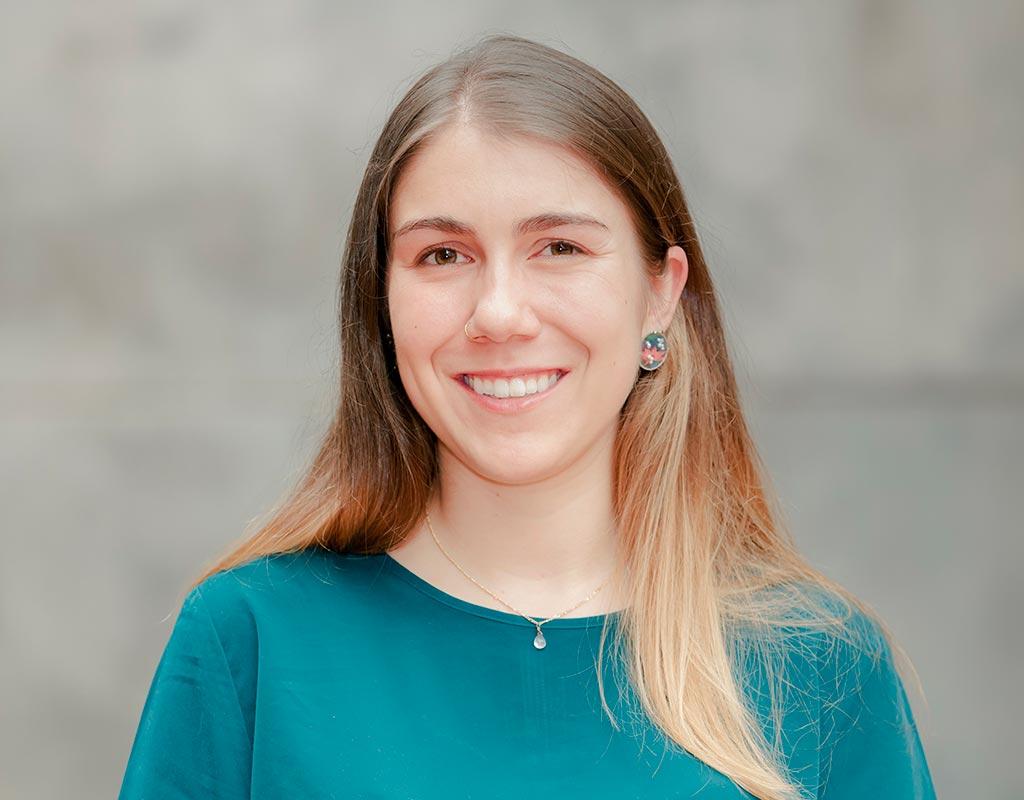 Nicole Cartier, graduada que recibió grado summa cum laude en ceremonia de grados 2018-2.