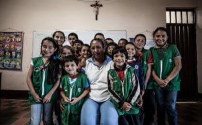 Niños de la escuela Jácome, Gramalote