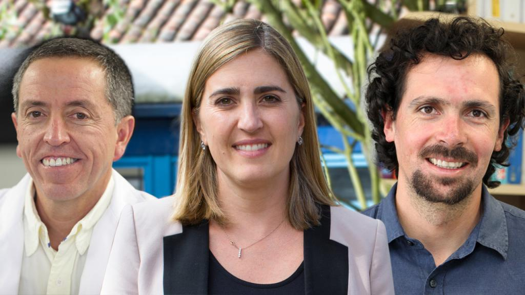 Los docentes uniandinos renovados en sus cargos.