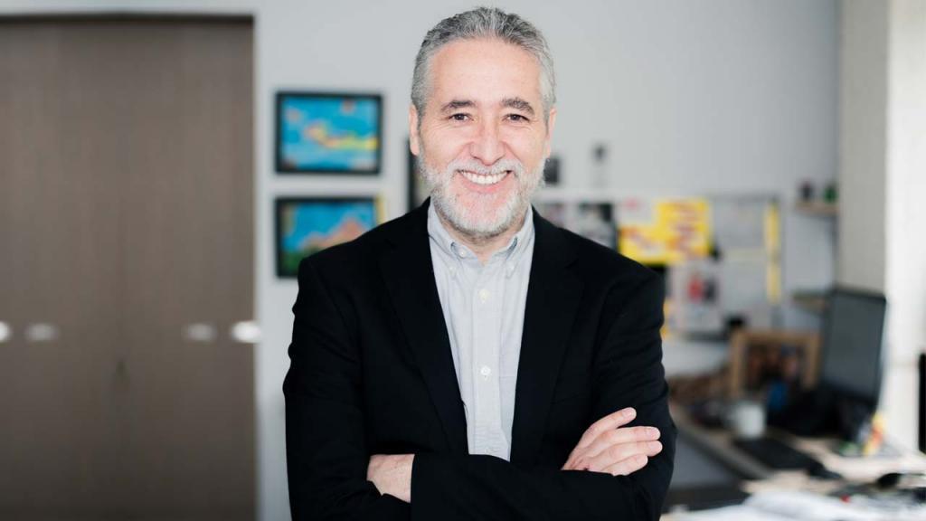 Retrato de Juan Camilo Cárdenas, decano de Economía de Los Andes.