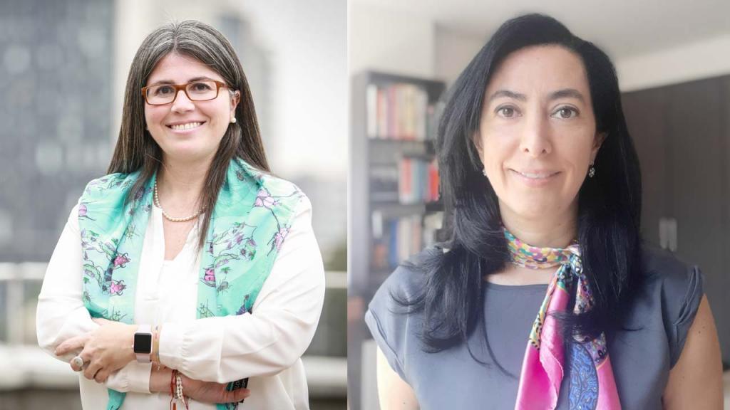 El rostro de dos mujeres