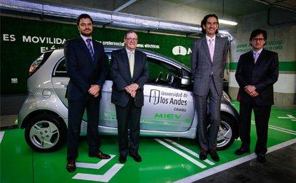 Uniandes y Mitsubishi crean alianza verde