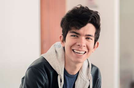Juan Felipe Acosta Cárdenas, estudiante beneficiado por el programa Quiero Estudiar.