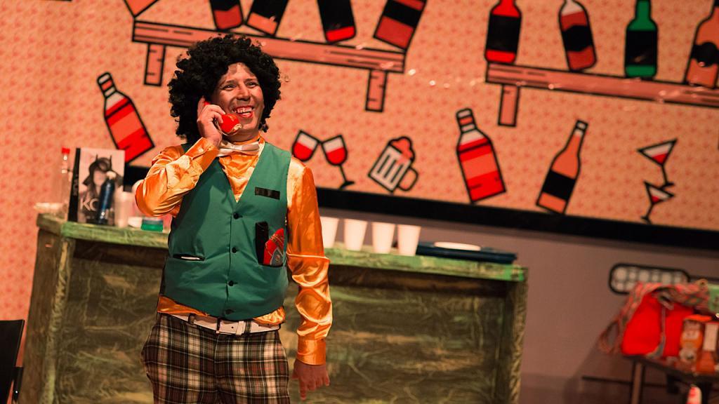 Actor del montaje teatral de la carcel la modelo