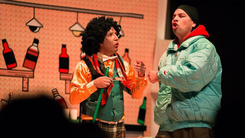 Actores de la obra teatral