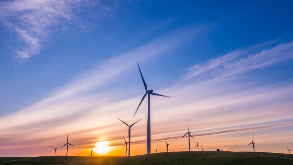 Imagen de energías alternativas en uso.